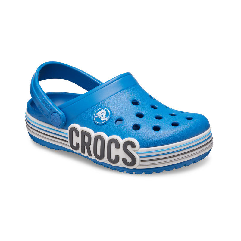 Crocs Kid's Crocband™ Logo Stripe PS Clog