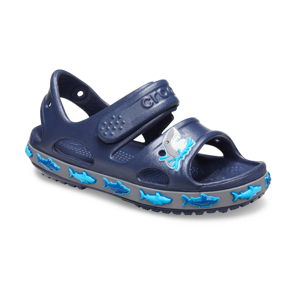 Crocs Boy's Fun Lab Shark Band Sandal