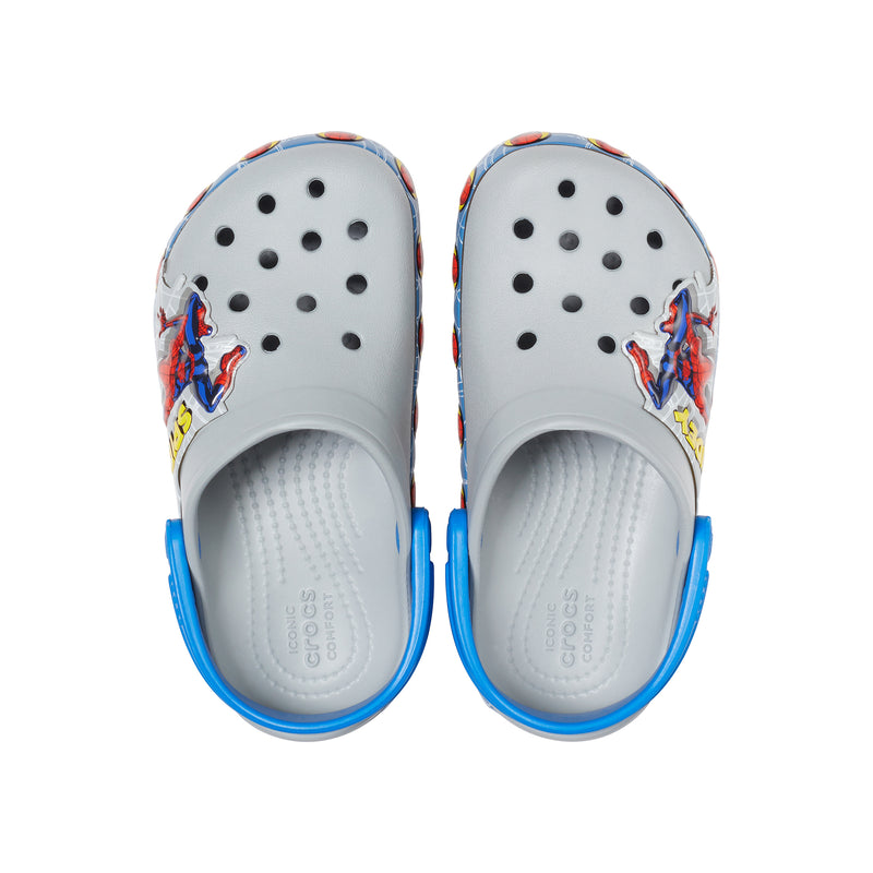 Crocs Kids' Boys Funlab Spiderman Lights Clog
