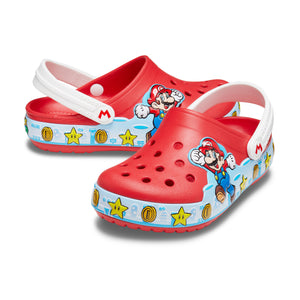 Crocs Boy's Fun Lab Super Mario Lights Clog
