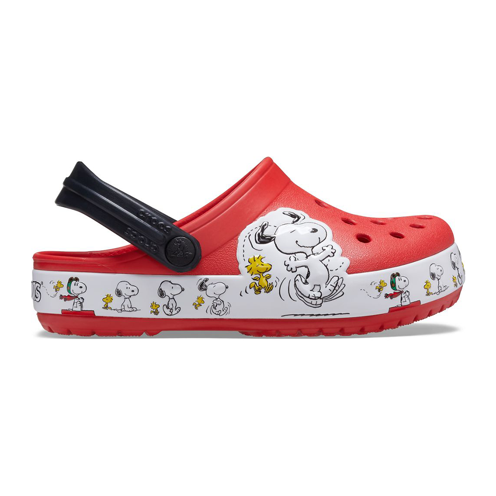 Crocs Kid's Fun Lab Snoopy Woodstock Clog