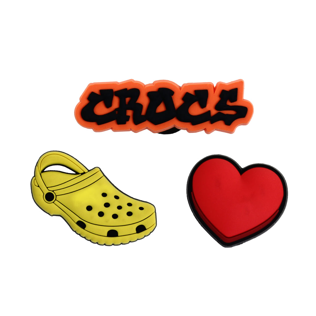 Crocs Jibbitz™ Charm I Love Crocs Pack