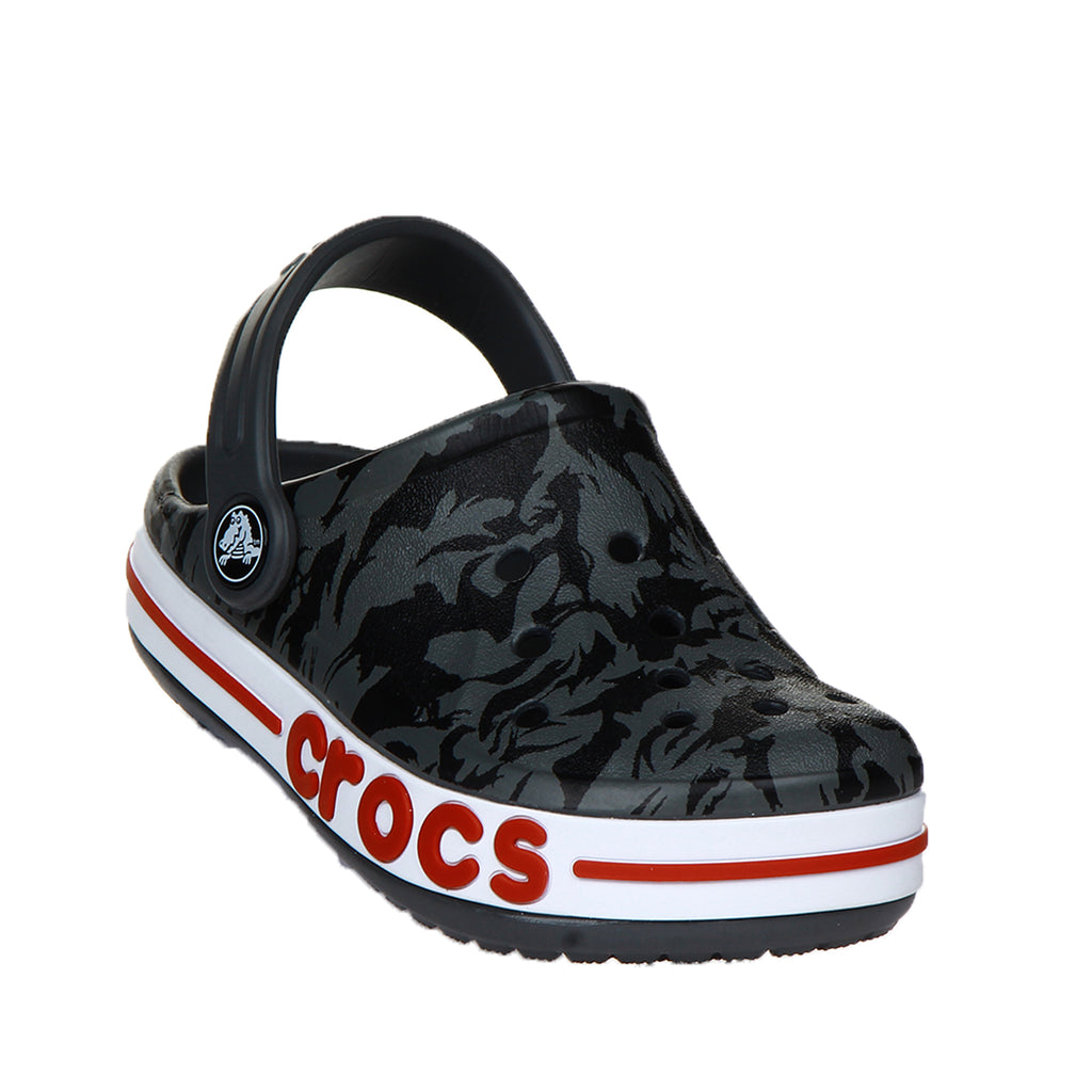 Crocs Kids' Bayaband Seasonal Printed Clog