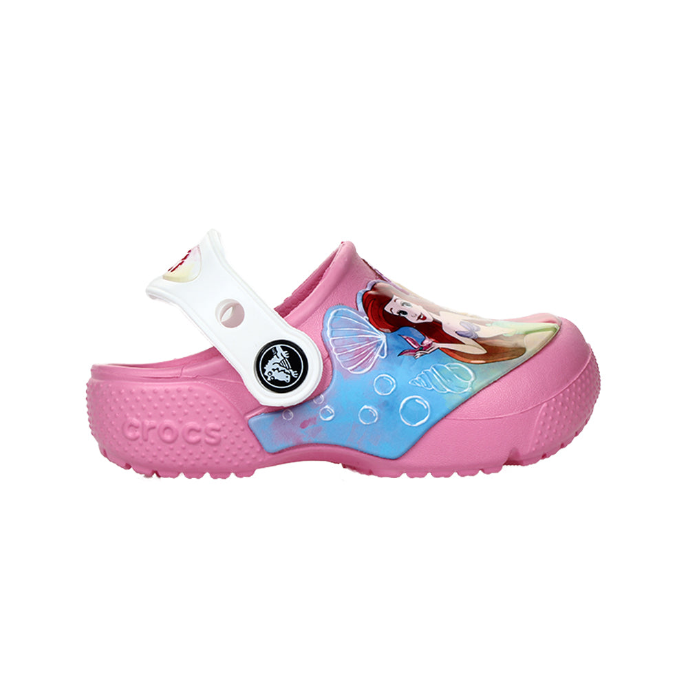 Crocs Girl's Fun Lab Disney Princess Patch Clog