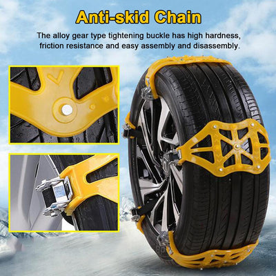 Snow Claw™ Emergency Car Traction Chain