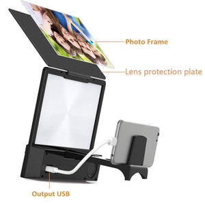 Screen Magnifier + Bluetooth Speaker