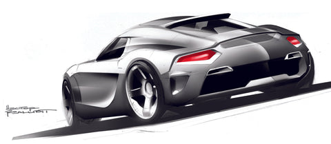 Porsche 911 Sketch Proposal from 14 Years Ago