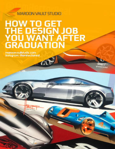 FREE | How to Get The Design Job You Want After Graduation - MAROON VAULT STUDIO