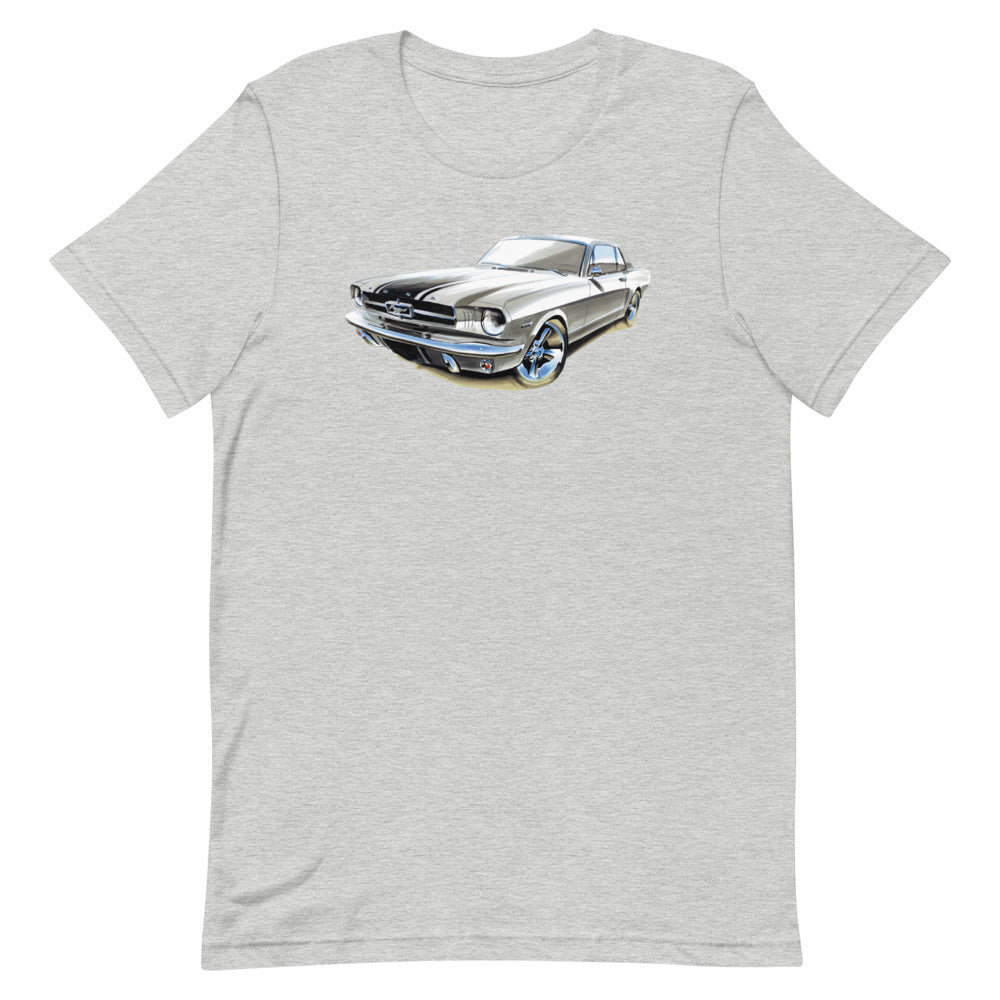 Classic Mustang | Short-Sleeve Unisex T-Shirt - Original Artwork by Our Designers - MAROON VAULT STUDIO