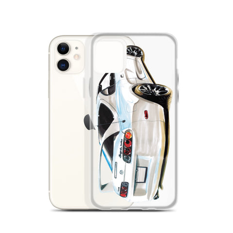 Supra MK4 - White | iPhone Case - Original Artwork by Our Designers - MAROON VAULT STUDIO