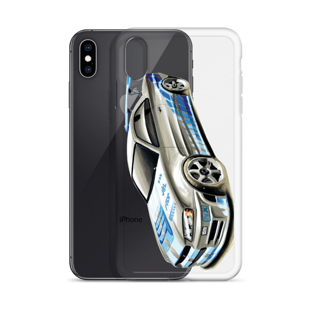 GTR R34 | iPhone Case - Original Artwork by Our Designers - MAROON VAULT STUDIO