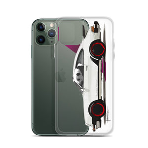 TURBO Panda [911 White] | iPhone Case - MAROON VAULT STUDIO
