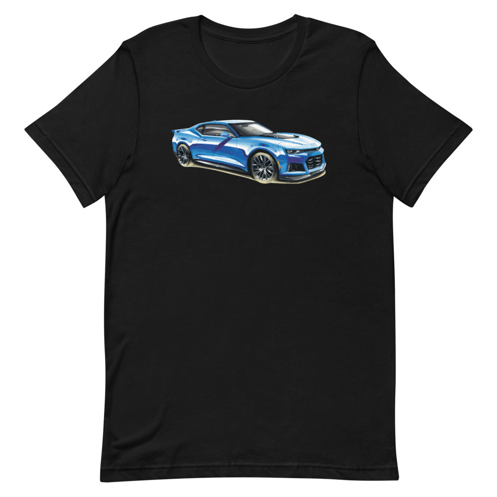 Camaro ZR1 | Short-Sleeve Unisex T-Shirt - Original Artwork by Our Designers - MAROON VAULT STUDIO
