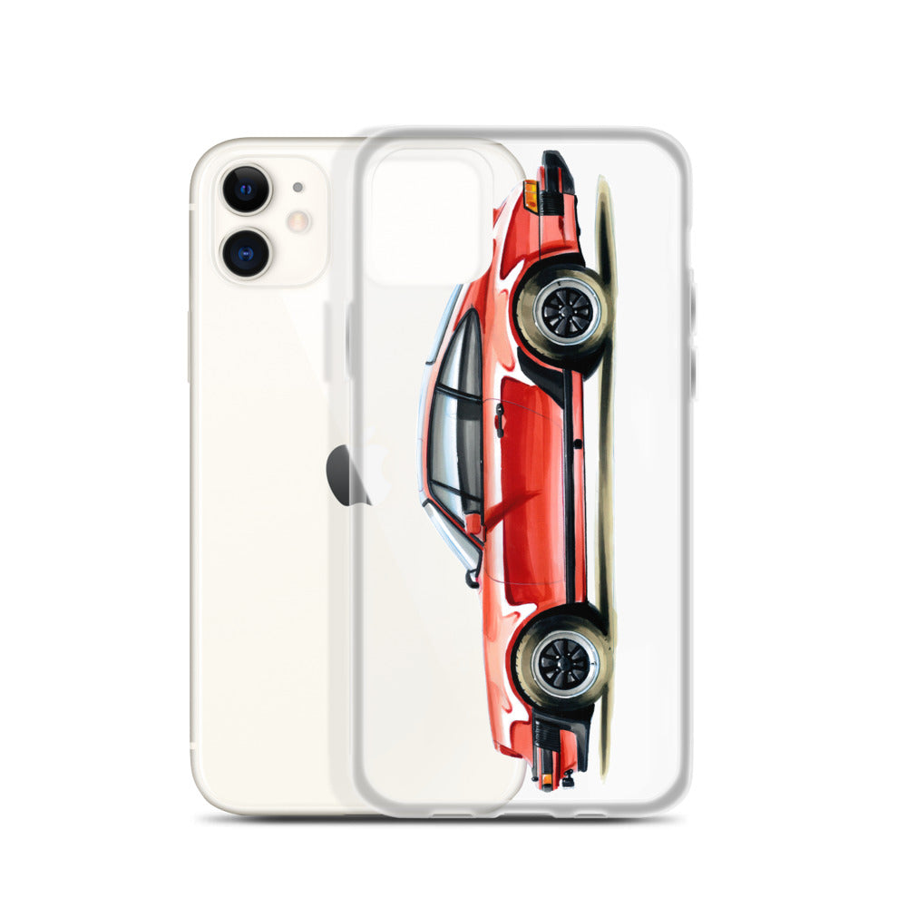 Classic 911 - Red | iPhone Case - Original Artwork by Our Designers - MAROON VAULT STUDIO