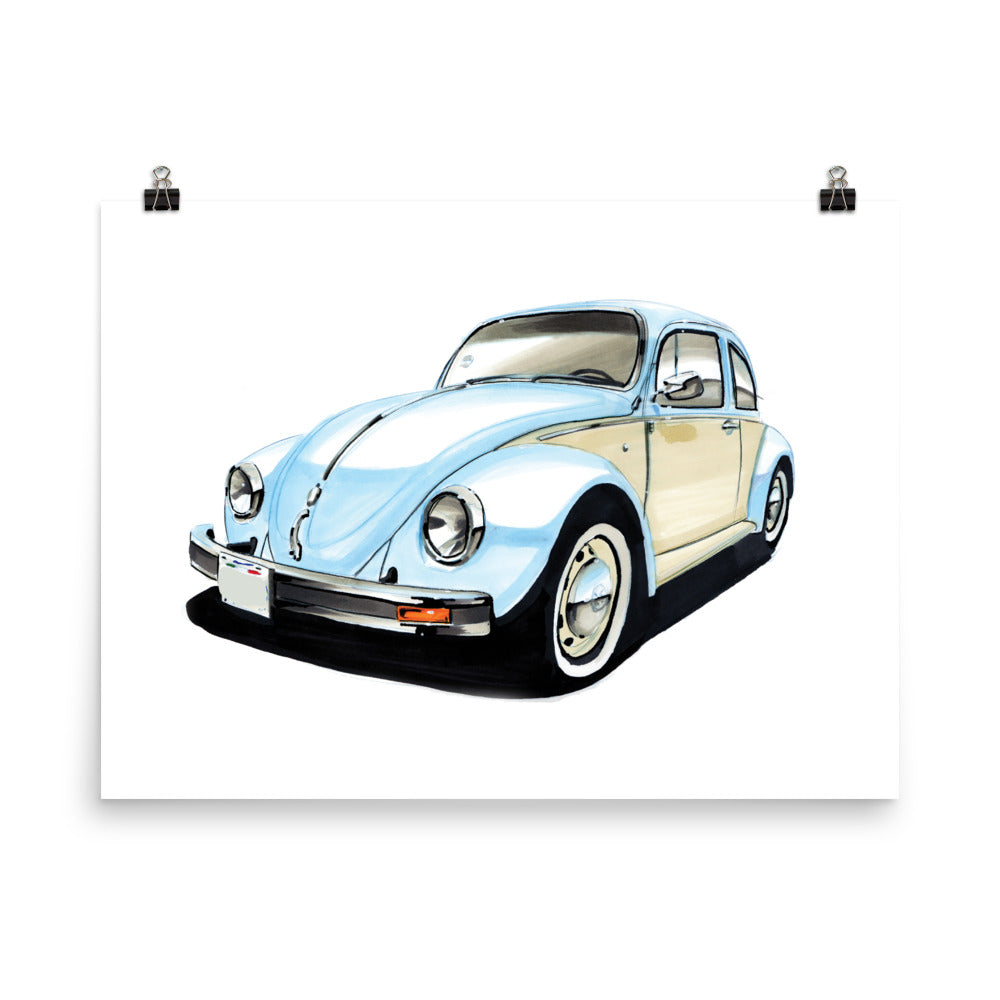 Bug | Poster - Reproduction of Original Artwork by Our Designers - MAROON VAULT STUDIO