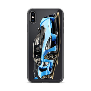 Senna [Blue] iPhone Case | Original Artwork by Our Designers - MAROON VAULT STUDIO
