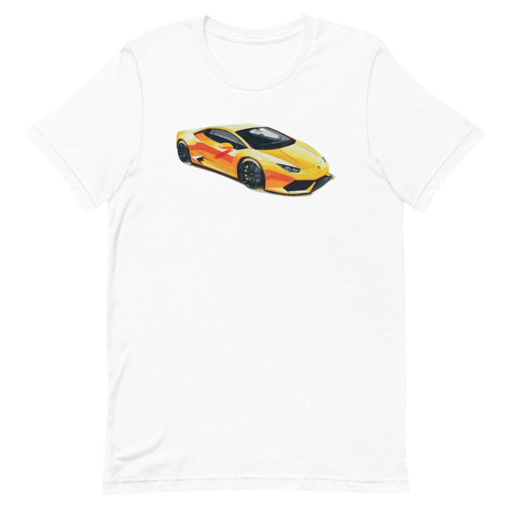 Huracan | Short-Sleeve Unisex T-Shirt - Original Artwork by Our Designers - MAROON VAULT STUDIO
