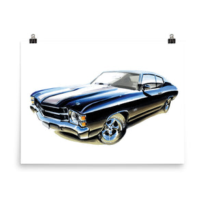Chevelle | Poster - Reproduction of Original Artwork by Our Designers - MAROON VAULT STUDIO