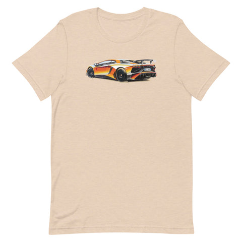 Aventador | Short-Sleeve Unisex T-Shirt - Original Artwork by Our Designers - MAROON VAULT STUDIO