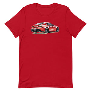 Supra MK5 [Red] | Short-Sleeve Unisex T-Shirt - MAROON VAULT STUDIO
