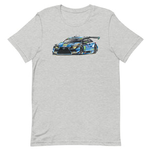 GT3 Race Car | Short-Sleeve Unisex T-Shirt - Original Artwork by Our Designers - MAROON VAULT STUDIO