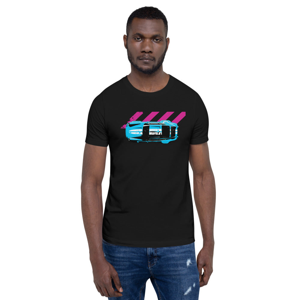 911 Classic | Short-Sleeve Unisex T-Shirt - Original Artwork by Our Designers - MAROON VAULT STUDIO