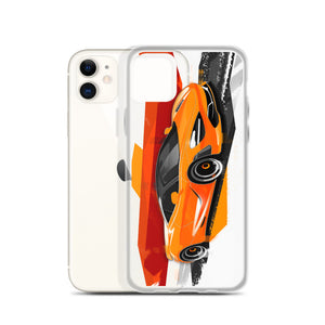 P1 iPhone Case [Orange] | Original Artwork by Our Designers - MAROON VAULT STUDIO