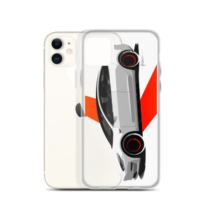Model iii [White] iPhone Case | Original Artwork by Our Designers - MAROON VAULT STUDIO