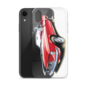 Classic Mustang - Red | iPhone Case - Original Artwork by Our Designers - MAROON VAULT STUDIO