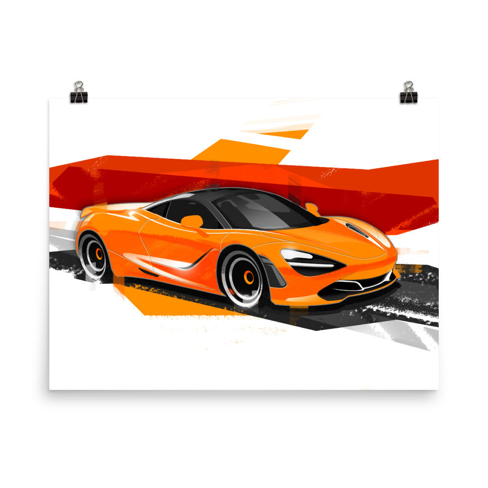 720s | Poster - Reproduction of Original Artwork by Our Designers - MAROON VAULT STUDIO