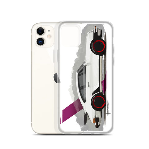 Classic 911 - White | iPhone Case - Original Artwork by Our Designers - MAROON VAULT STUDIO