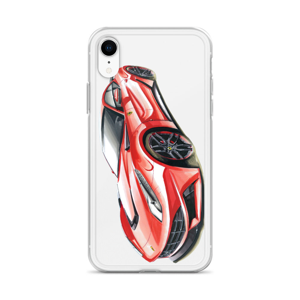 N Largo [Red] iPhone Case | Original Artwork by Our Designers - MAROON VAULT STUDIO