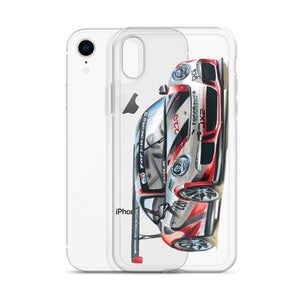 911 Cup Car [Red/Silver] iPhone Case | Original Artwork by Our Designers - MAROON VAULT STUDIO