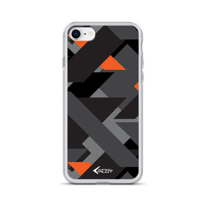 Thermal Pilot - Orange & Gray | iPhone Case - MAROON VAULT STUDIO