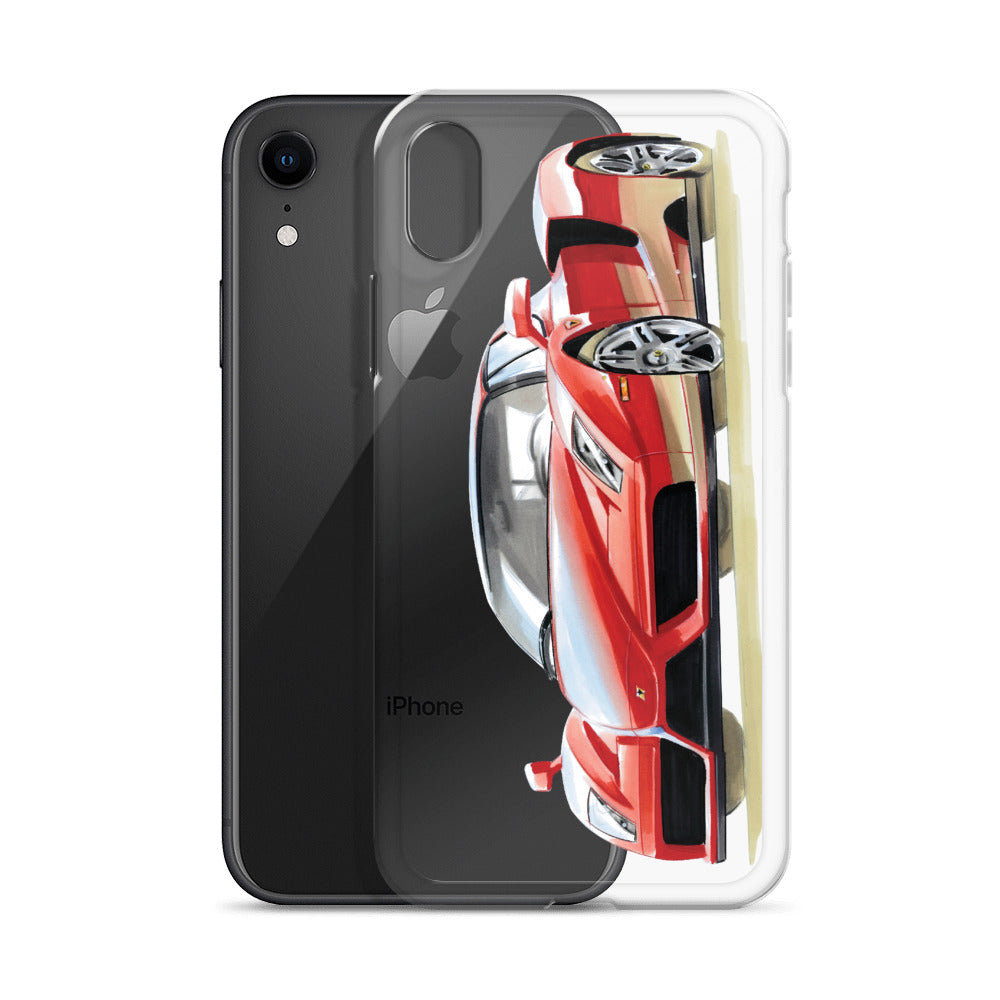 Enzo [Red] iPhone Case | Original Artwork by Our Designers - MAROON VAULT STUDIO
