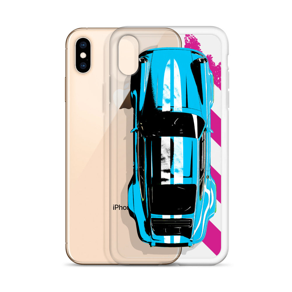 911 Classic Top View [Blue] iPhone Case