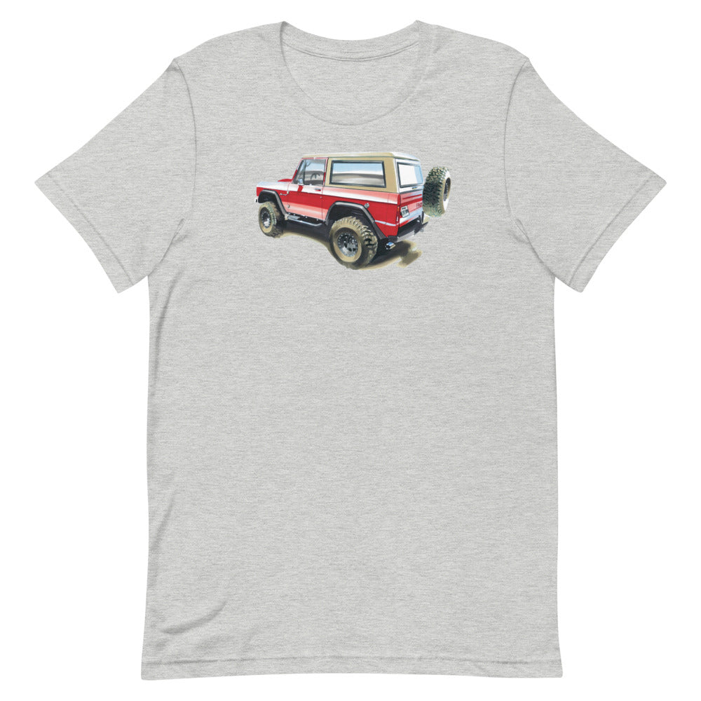 Bronco | Short-Sleeve Unisex T-Shirt - Original Artwork by Our Designers - MAROON VAULT STUDIO