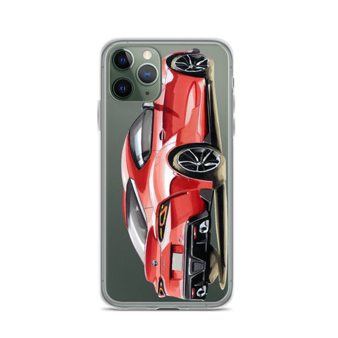 Supra MK5 | iPhone Case - Original Artwork by Our Designers - MAROON VAULT STUDIO
