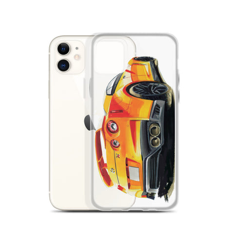 GTR R35 | iPhone Case - Original Artwork by Our Designers - MAROON VAULT STUDIO