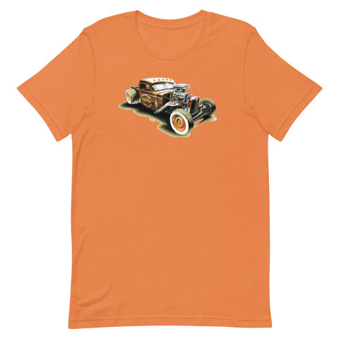 Rat Rod | Short-Sleeve Unisex T-Shirt - Original Artwork by Our Designers - MAROON VAULT STUDIO
