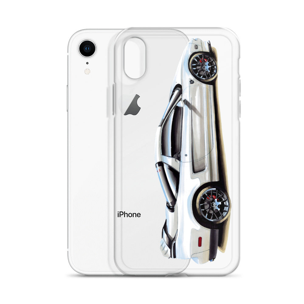 NXS [White] iPhone Case | Original Artwork by Our Designers - MAROON VAULT STUDIO
