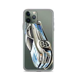 GTR R34 [Blue/White] iPhone Case | Original Artwork by Our Designers - MAROON VAULT STUDIO