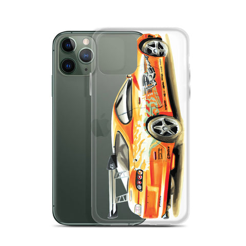 Supra MK4 | iPhone Case - Original Artwork by Our Designers - MAROON VAULT STUDIO