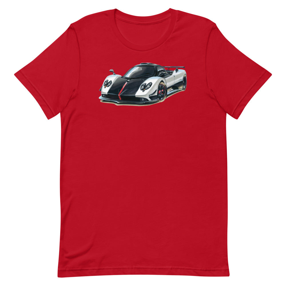 Zonda | Short-Sleeve Unisex T-Shirt - Original Artwork by Our Designers - MAROON VAULT STUDIO