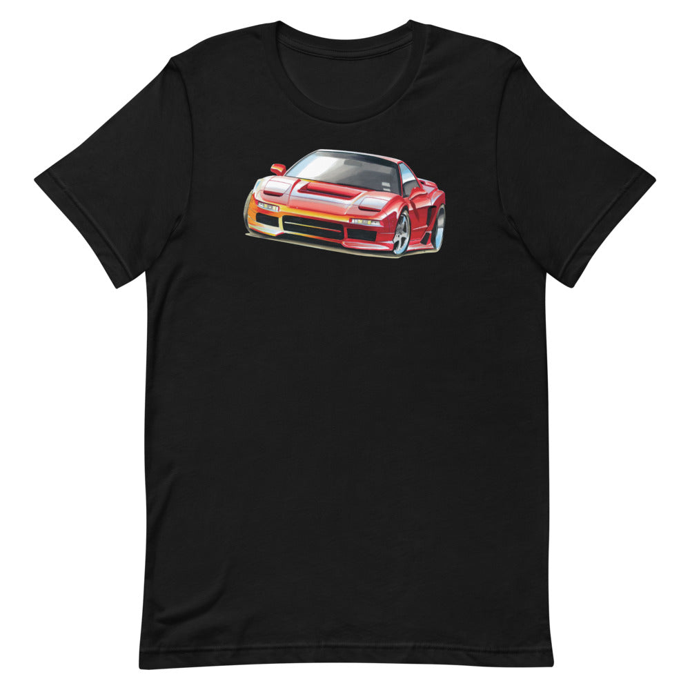 NSX - Red | Short-Sleeve Unisex T-Shirt - Original Artwork by Our Designers - MAROON VAULT STUDIO