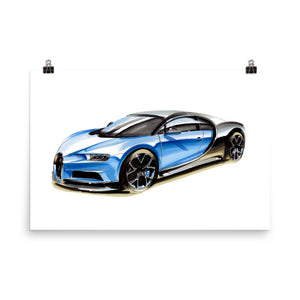 Chiron | Poster - Reproduction of Original Artwork by Our Design Team - MAROON VAULT STUDIO