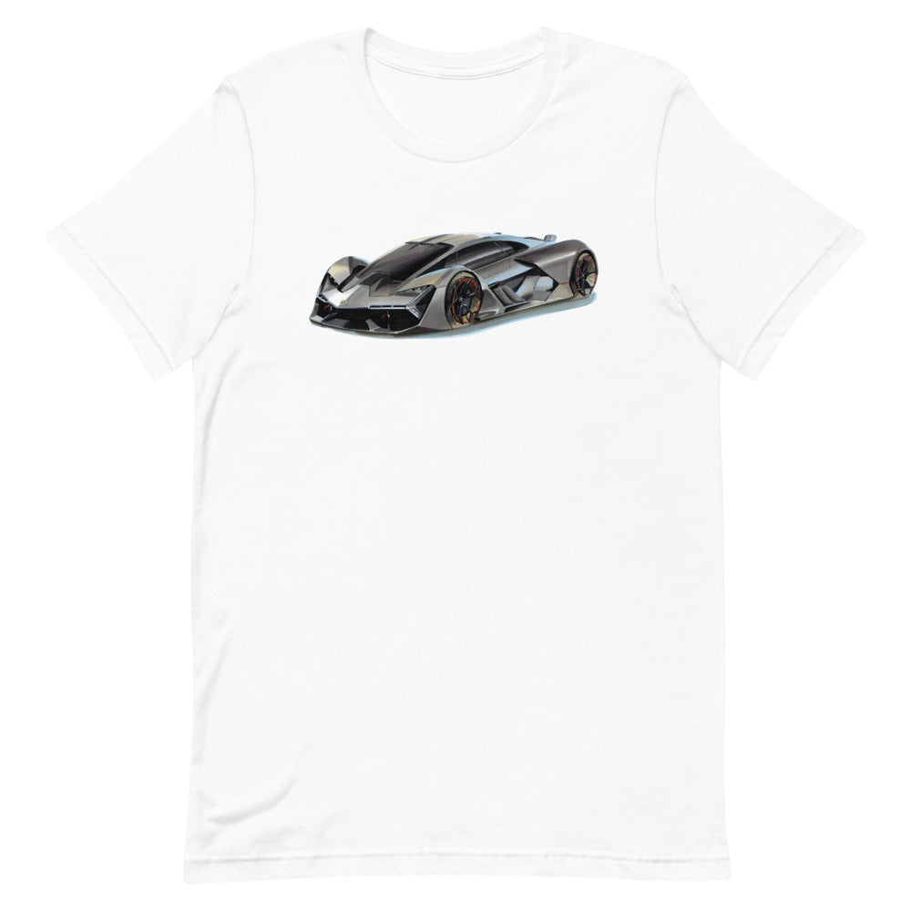 Terzo Millennio | Short-Sleeve Unisex T-Shirt - Original Artwork by Our Designers - MAROON VAULT STUDIO