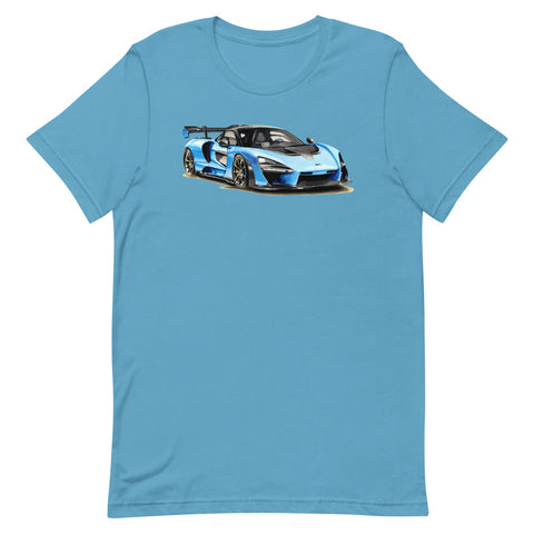 Senna | Short-Sleeve Unisex T-Shirt - Original Artwork by Our Designers - MAROON VAULT STUDIO