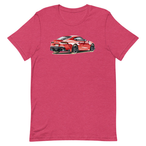 Supra MK5 | Short-Sleeve Unisex T-Shirt - Original Artwork by Our Designers - MAROON VAULT STUDIO