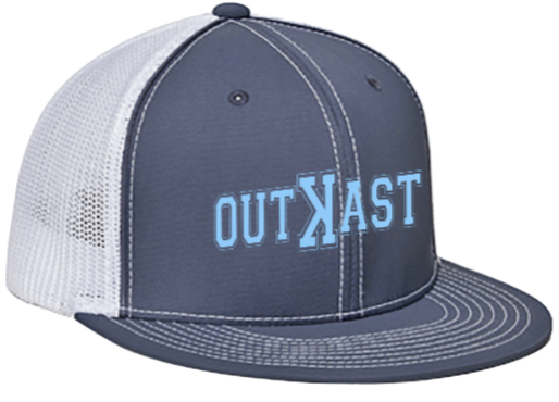 Outꓘast EMBROIDERED FLAT BILL FLEX FIT HAT